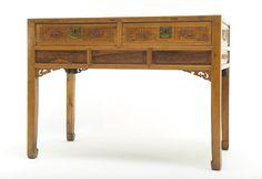 A desk China, Qing dynasty, 19th Century