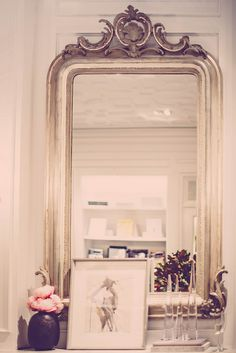 Club Monaco Home Design Decor House Rooms Living Room Inspiration Retail Mirror Mirrors Vignettes