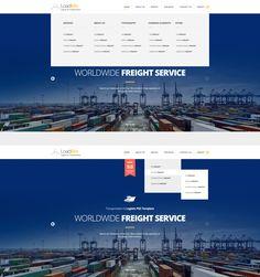 Logistics powerpoint template pinterest mockup template and loadme logistic transportation psd template toneelgroepblik Gallery