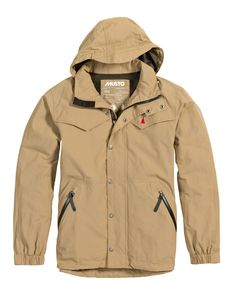 Stay dry this weekend in MUSTO's stylish Kiel Technical Parka