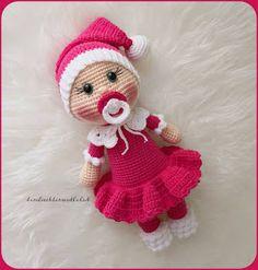 Samyeli & # s RGB Amigurumi Doll Pacifier Baby Free English Pattern Samyeli & # s . Doll Amigurumi Free Pattern, Crochet Amigurumi Free Patterns, Crochet Animal Patterns, Crochet Doll Pattern, Stuffed Animal Patterns, Amigurumi Doll, Free Crochet, Crochet Gratis, Bobble Stitch