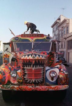 The Book that Launched Psychedelic Counterculture Kool Aid, Ken Kesey, Woodstock Ny, Acid Trip, Beat Generation, Magic School Bus, Happy Hippie, Bus Ride, New People