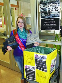 Consider a new spin on the Get Away Theme = Teen Runaways or Teen Homelessness. Corry student organizes Teens for Jeans fundraiser.