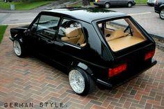 Mk1 golf - black & tan