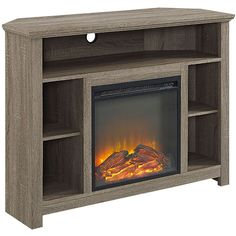 Fresh Corner Cabinet Electric Fireplace