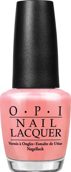 OPI Tutti Frutti Tonga Nail Lacquer | Delicious pale pink touched by pearl and ice. | Pearl