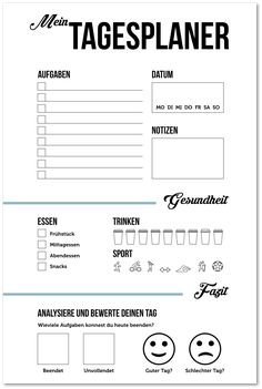 Planning a day: tips & templates for a quick end to work- Tag planen: Tipps & Vorlagen für einen schnellen Feierabend Planning the day: This is how you use your time better and have a quicker end to work. ✅ Tips and free templates for daily planner … - Flowers Wallpaper, Woodsmith Plans, Stress, Budget Planer, Planning Your Day, Shed Plans, Journal Inspiration, Budgeting, About Me Blog