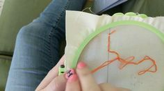 This video series is a companion to our booklet, A Very Basic Beginner Guide to Embroidery. If you have this booklet, it means you've been to one of our clas. Satin Stitch, Booklet, Embroidery, Chain, Crafts, Needlepoint, Manualidades, Craft, Cut Work