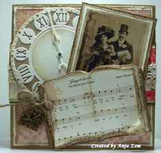 Victorian style heritage Christmas page.