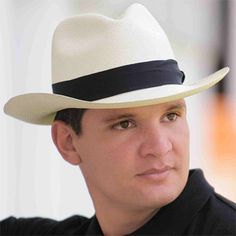 Panama Hats for Men: The finest straw hats, hand woven in Ecuador. Incredible Selection at Great Prices! Ecuador, Pork Pie Hat, Fedora Hat, Hats For Men, Cowboy Hats, Straw Hats, Men's Hats, Mens Fashion, Pure Products