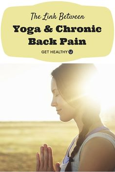 Did you know yoga can work as an alternative or complementary treatment to treat chronic pain? Read on to discover more about the link between yoga and chronic back pain.