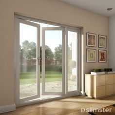 "Patio french doors - Sometimes a patio door is called a French door. The term ""French door"" usually refers to a pair of glazed patio doors Interior Sliding French Doors, Upvc French Doors, Interior Doors For Sale, Double French Doors, Glass French Doors, French Doors Patio, French Patio, Glass Doors, Sliding Doors"