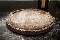 Brownietaart met cointreauroom - Zoet recepten