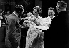 Emmy and Hermann Goering at Their Daughter's Christening