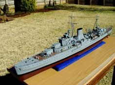 HMS Ajax - South African reader PAT KEOGH describes his latest model