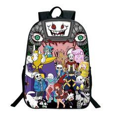 2018 Anime Undertale Backpack For Teenage Girls Boys Sans Printing Bag  Women Mochila Men Travel Bag Children School Backpacks 0d2361a8de93d