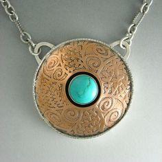 Jewelry-Semi-Precious Stones-           Gallery 386: Copper Vines