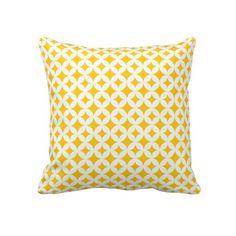 Diamond Circles Pillow