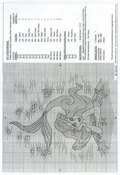 PRINCESAS DE DISNEY PUNTO EN CRUZ (pág. 2) | Aprender manualidades es facilisimo.com