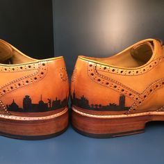 Men's shoes crafted from the finest leathers and using traditional construction methods. Real Tattoo, Tattoo You, All Tattoos, Men's Shoes, Dress Shoes, Shoe Crafts, Barber, Old School, Oxford Shoes