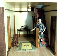 Photographs of the 1930s Dolls House