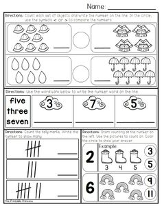 April morning work for Kindergarten. 20 pages of literacy, 20 pages of math. Daily repetitive directions promote student independence.