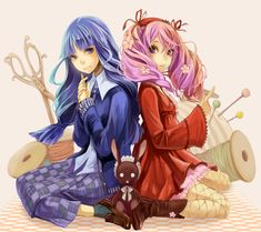 Candace and Luna (from Harvest Moon: Animal Parade)