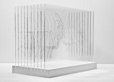 Transparent Face Off Sculpture – Fubiz™