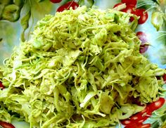 Tennessee-Style Mustard Coleslaw - I have never seen mustard coleslaw.  I am not sure if I would like it or not.  Looks good.  Use a sugar substitute for Low Carb.
