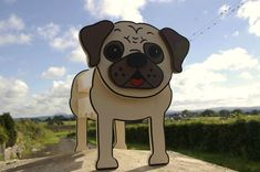 Hey, I found this really awesome Etsy listing at https://www.etsy.com/listing/162466207/pug-planter-garden-ornaments-garden