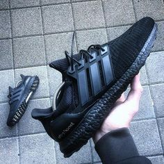 triple black adidas ultra boost Dang these would have been cool too!