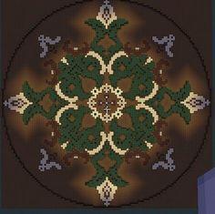 Floor Design/ Garden Minecraft Project