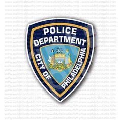 Philadelphia Police Department Sticker