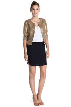 Shiny linen #Esprit #blazer