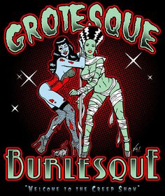 Grotesque Burlesque Rockabilly Psychobilly WORK SHIRT