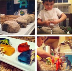Fossil rocks were very cool.  Children loved making them and breaking them.  Highly recommended activity for preschoolers!