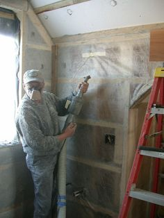 Insulating 2x4 walls, easy cheap and very effective. Mooney Wall -- A low cost, high R value wall
