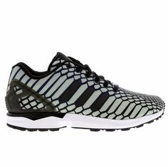 30de10955fbb5 Adidas Originals ZX Flux Xeno 3M Reflective Navy White AQ4534 Sneakers Size  10.5
