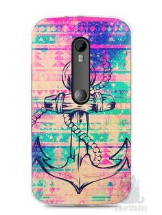 Capa Moto G3 Âncora - SmartCases - Acessórios para celulares e tablets :)