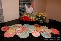 Moda Bake Shop: Simple Circles Table Runner