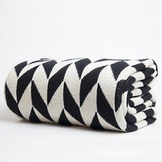 Chevron Eco-Throw to add a little drama to our living room or bedroom