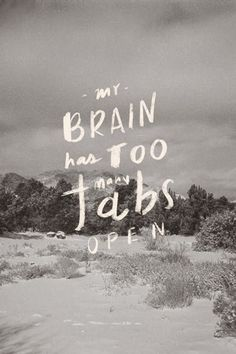 love print studio blog: My brain has too many tabs open...