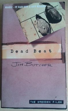 Dead Beat by Jim Butcher is the seventh book in the Dresden Files urban fantasy series.