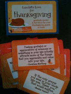 from sayplease.com Lunch box love cards. fun facts about Thanksgiving
