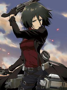 Mikasa | Attack on titan | SNK