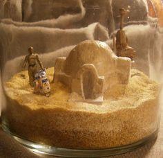 Custom Star Wars Tatooine Themed Terrarium Lars by RoadSoFar