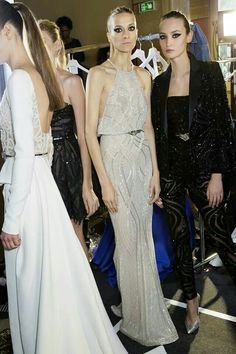 Backstage Zuhair Murad Haute Couture