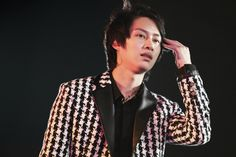 Heechul at SMTown in Seoul