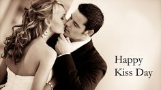 Couple Kissing Each Other Happy Kiss Day 2014