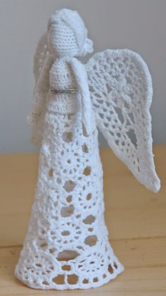 Crochet Angel Pattern, Crochet Patterns, Crafts For Kids, Diy Crafts, Christmas Projects, Quilling, Wings, Accessories, Stitches